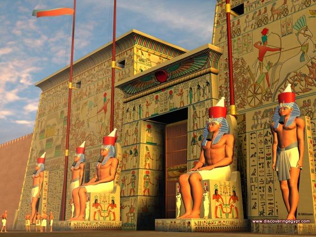 شاهد بانوراما اعظم حضارة فى التاريخ مدينة